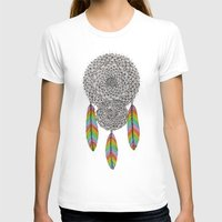 dream catcher T-shirts featuring Dream Catcher by Luna Portnoi