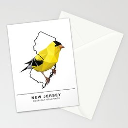 New Jersey – American Goldfinch Stationery Cards
