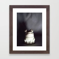 Froggie Framed Art Print