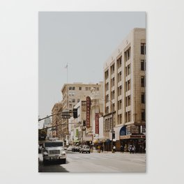 Downtown Los Angeles IV Canvas Print
