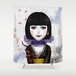 Little Poison Master Shower Curtain