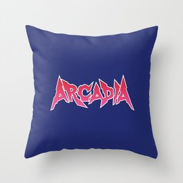 Arcadia Magazine Logo Throw Pillow