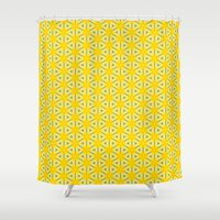 daisies Shower Curtains featuring Daisies by Daniac Design