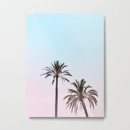 162. Double Palm Tree, Rome Metal Print