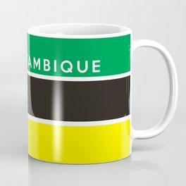 flag of Mozambique Coffee Mug