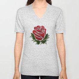 Roses Have Thorns Unisex V-Neck