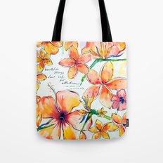 Beautiful tropical things Tote Bag