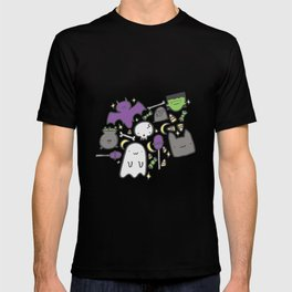 Kawaii Halloween - White T-shirt