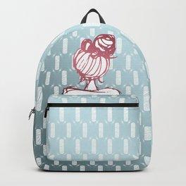 Hair Bun Backpack