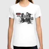 ewok T-shirts featuring Ewok Village by foreverwars