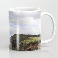 scotland Mugs featuring John O Groats Scotland by Roger Wedegis