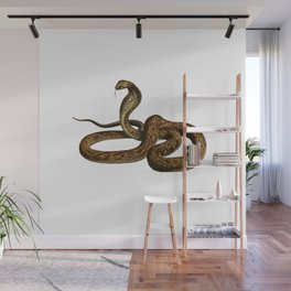 Snake Ready to Strike Wall Mural