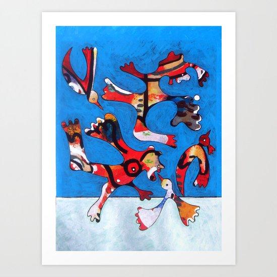Os Pássaros  (2010) Art Print