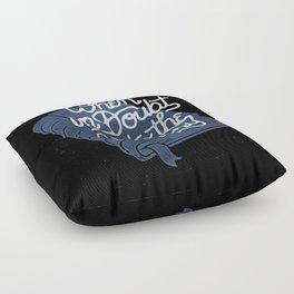 Library Floor Pillow