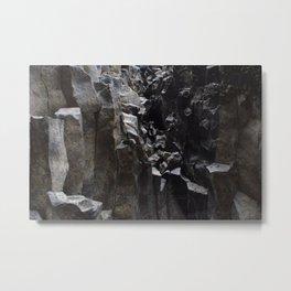 Columnar rocks Metal Print