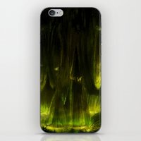 metroid iPhone & iPod Skins featuring Metroid: SR388 by FirebornForm
