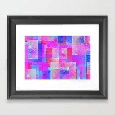 techno base Framed Art Print
