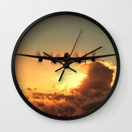 Cloud Rider Wall Clock