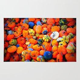 Colorful Tiny Pumpkins Rug