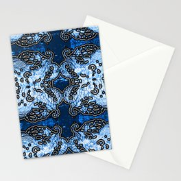 under the water Stationery Cards