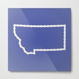 Montana: United Chains of America Metal Print