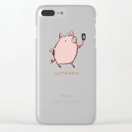 Instaham Clear iPhone Case