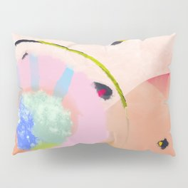 circles art abstract Pillow Sham