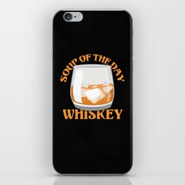 Whiskey Business Tshirt And Drinking Dress iPhone Skin