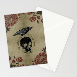 No mourners no funerals - Six of Crows Stationery Cards