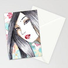 Geisha Glance Stationery Cards