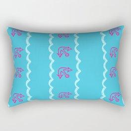 Mermaid Banana Show Rectangular Pillow