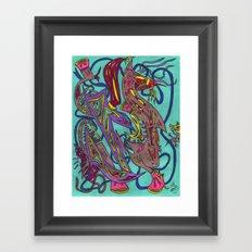 The Aleph Framed Art Print