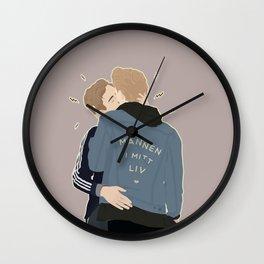 MANNEN I MITT LIV Wall Clock