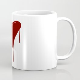 Melting Red Heart Coffee Mug