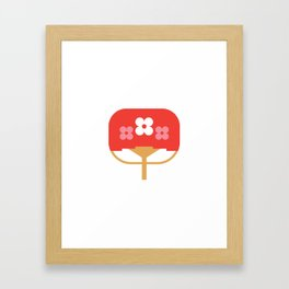 Japan Fan Framed Art Print