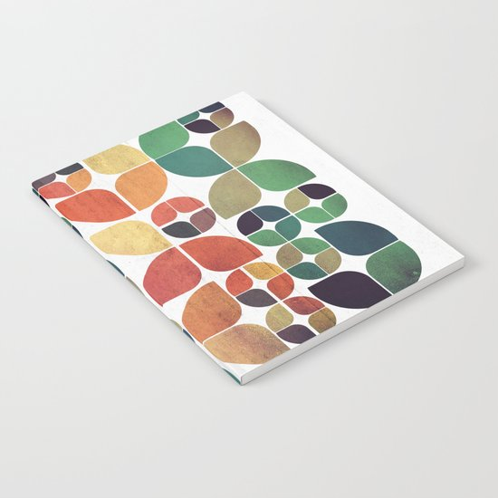 Vintage Fall Pattern Notebook