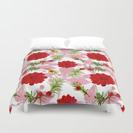 Berries and Boughs II Duvet Cover