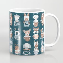 Doggie Coffee and Tea Time II Coffee Mug
