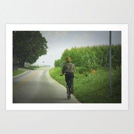 Getting Around in Lancaster, PA Art Print