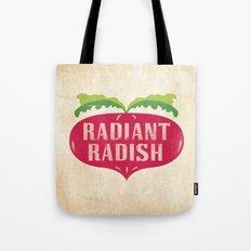 Radiant Radish Tote Bag