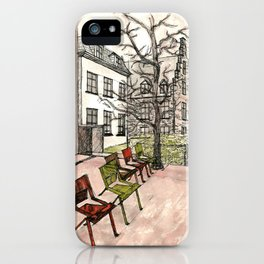 In Brussels iPhone Case