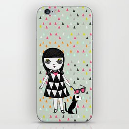 She loves her eames.  iPhone Skin