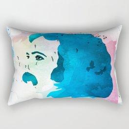David Crosby Music is Love Rectangular Pillow
