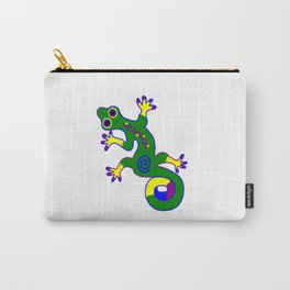 Tribal Gecko Carry-All Pouch