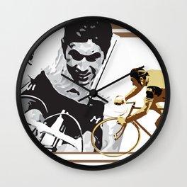 cycling legend Eddy 'The Cannibal' Merckx Wall Clock