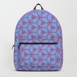 Hex Pattern 65 - Purple/Pink Backpack