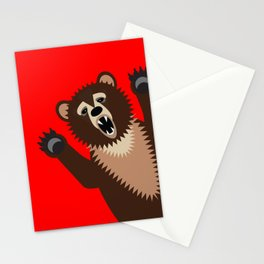 The Bear Says Boo Stationery Cards