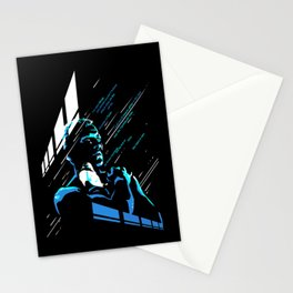 like tears in rain Stationery Cards