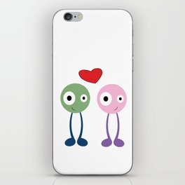 Dood Love iPhone Skin