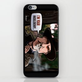 I'm Your Huckleberry (Tombstone) iPhone Skin